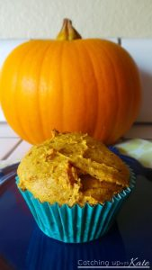 Easy Two Ingredient Pumpkin Muffins