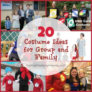 Family and Group Costume Ideas Fb Collage
