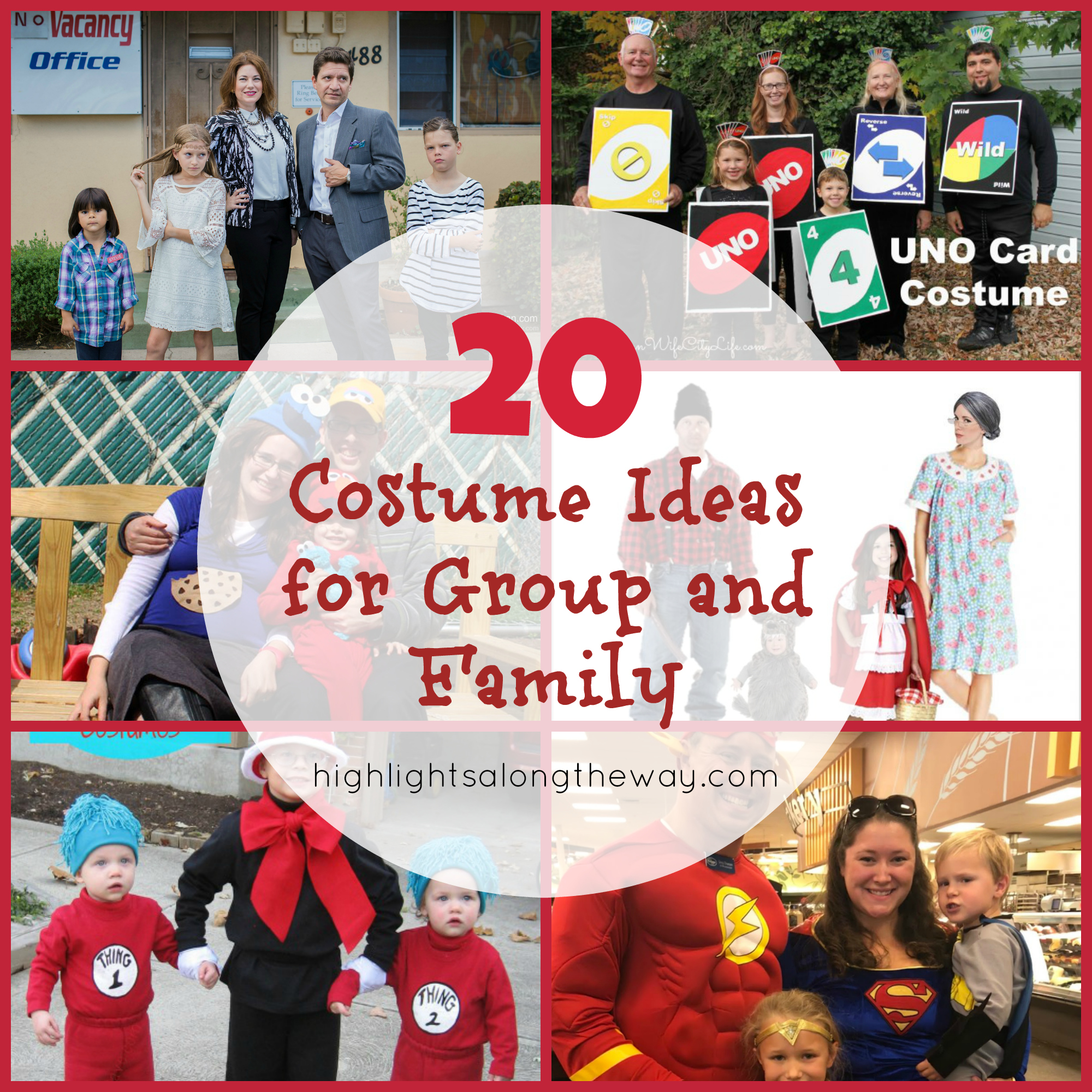 Family and Group Costume Ideas!