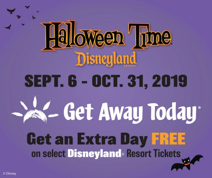 Halloween time Disneyland 2019 deals
