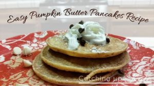 Pumpkin Butter Pancake Recipe