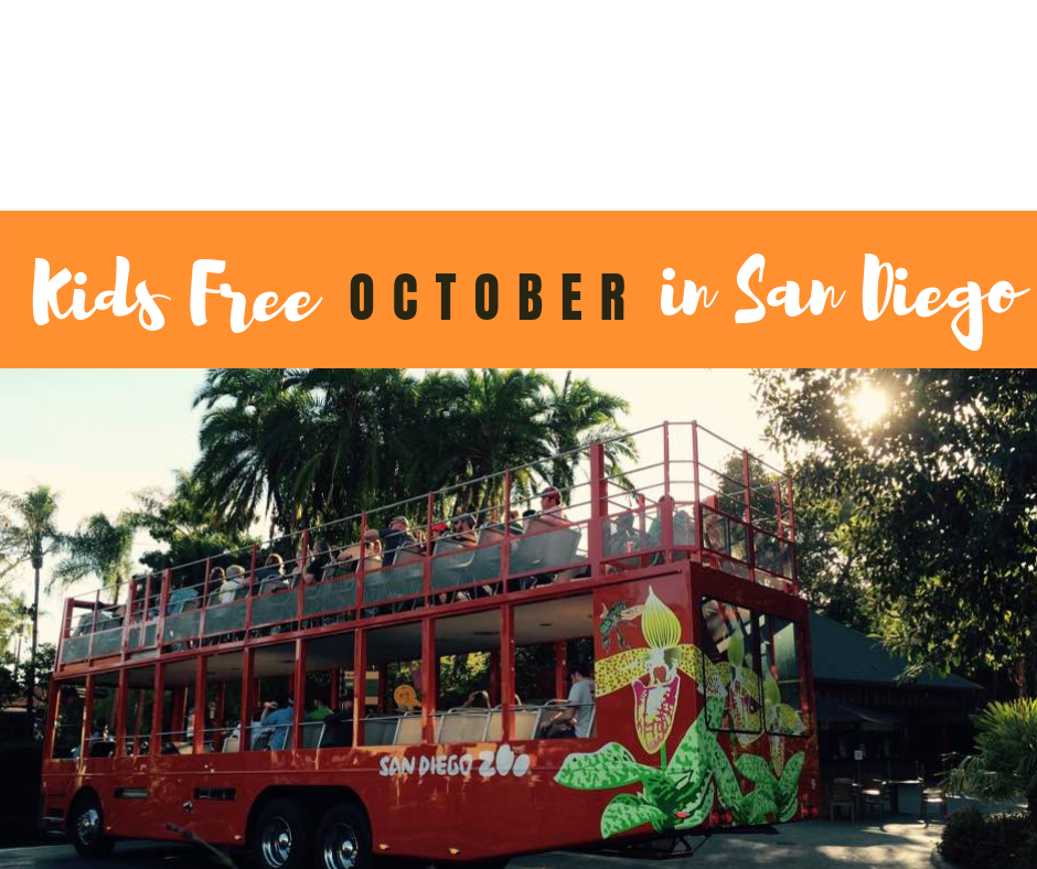 Kids FREE in San Diego all October long!