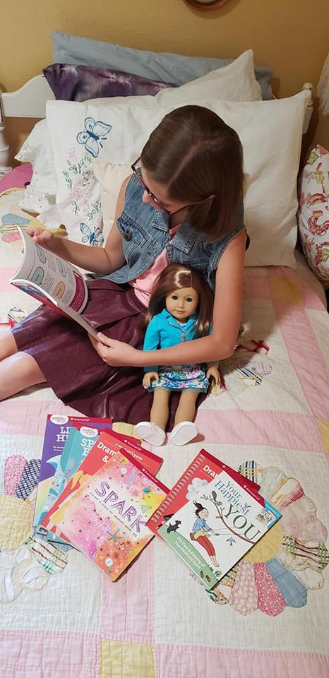 tween american girl books