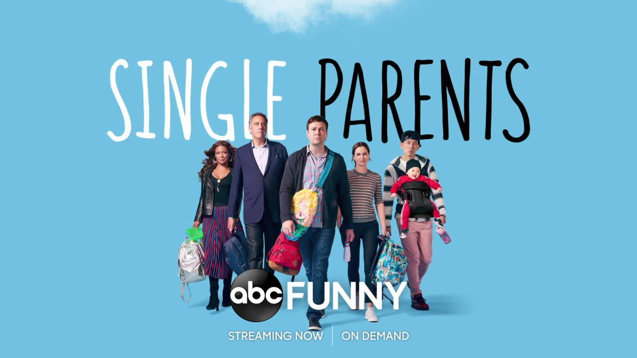 behind the scenes at Single Parents