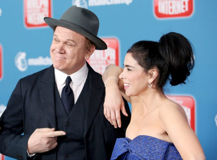 John C Reilly and Sarah Silverman