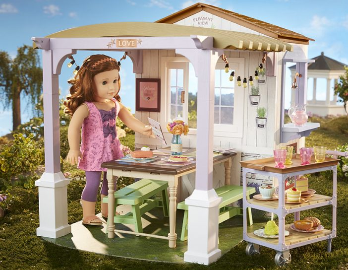 Blaire Wilson family farm restaurant play set