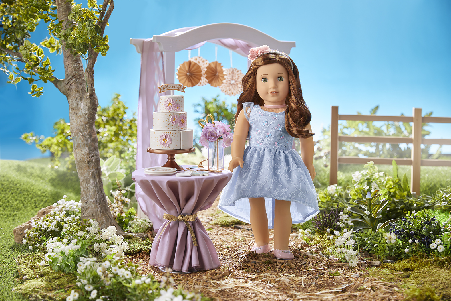 Blaire Wilson American Girl Doll of the Year Party Dress