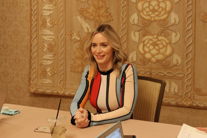 emily blunt interview mary poppins