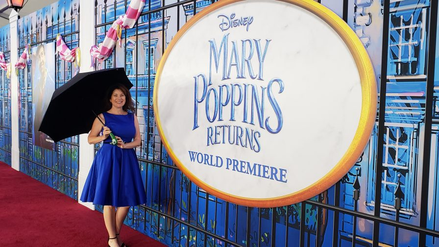 Mary Poppins Returns red carpet event