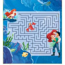 The Little Mermaid printable maze