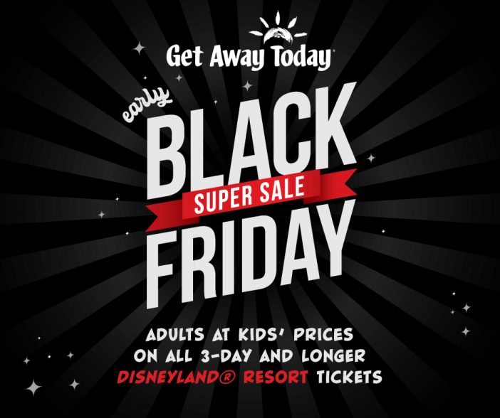discount disneyland Christmas tickets