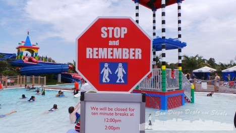 Potty Break LEGOLAND Water Park