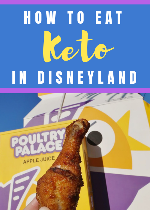 Keto treats at Disneyland