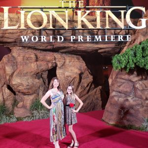 The Lion King - pictures from The Red Carpet!