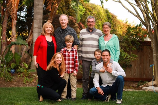 family photo before cancer