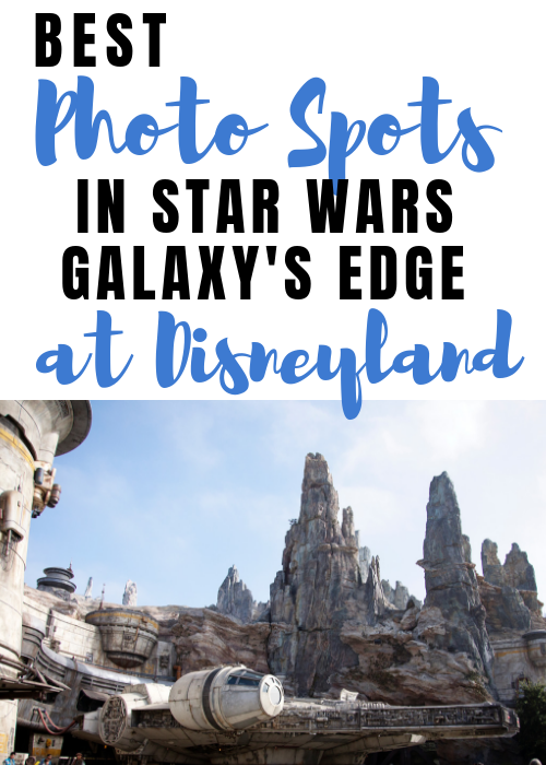Best photo spots at Star Wars Land