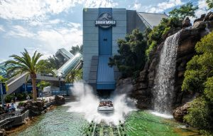 jurassic world ride new at Universal Studios hollywood