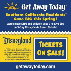 SoCal Resident best discount for Disneyland