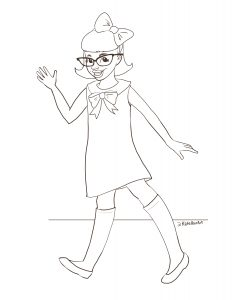 Melody Ellison Coloring sheet