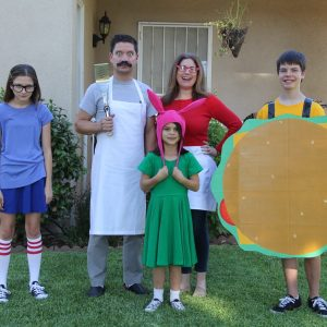 Bob's Burger Group Costumes!