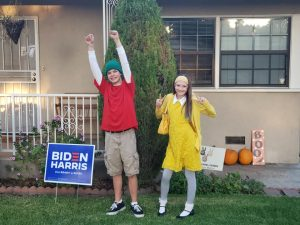 Honey Lemon and Fred Group couple costume easy DIY
