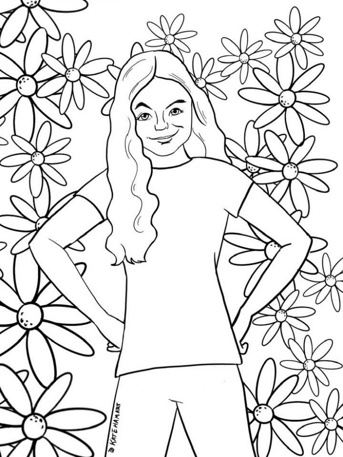 Missy we can be heroes coloring pages