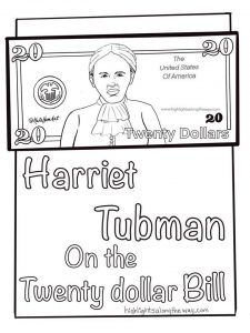 Harriet Tubman on the twenty dollar bill